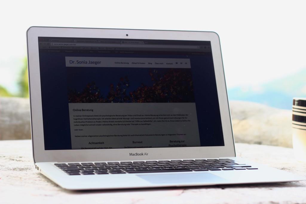 Onlineberatung Laptop Online Consultation
