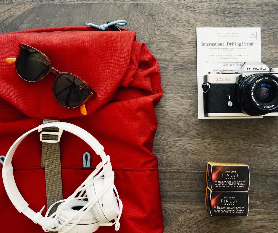 Ich packe meinen Rucksack… Eine Online Psychotherapeutin packt aus.