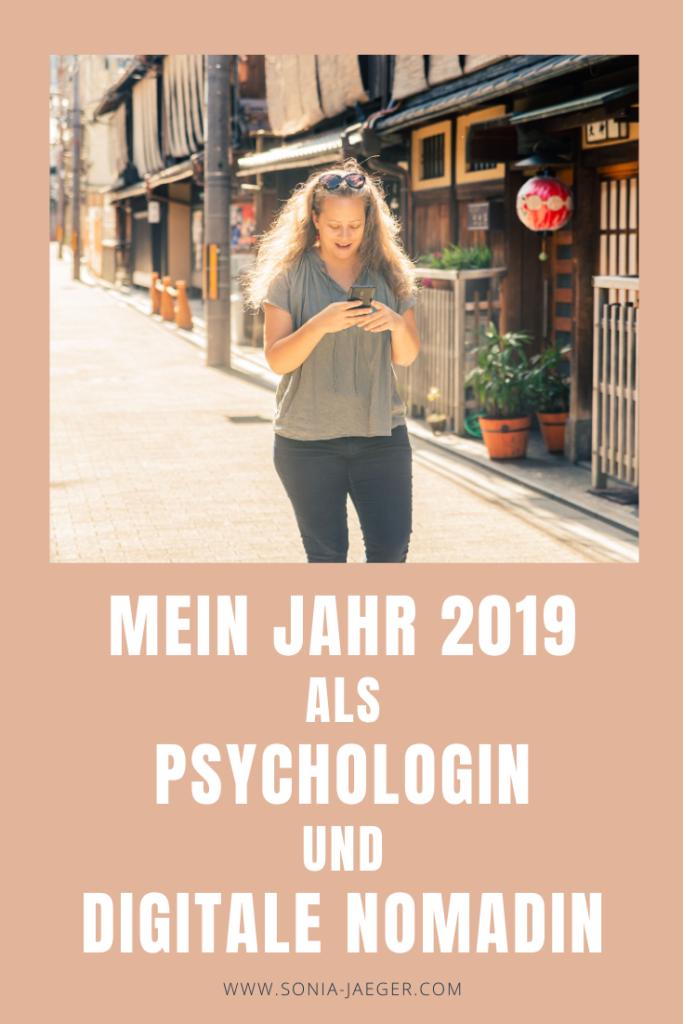 Mein Jahr 2019 als Psychologin und digitale Nomadin